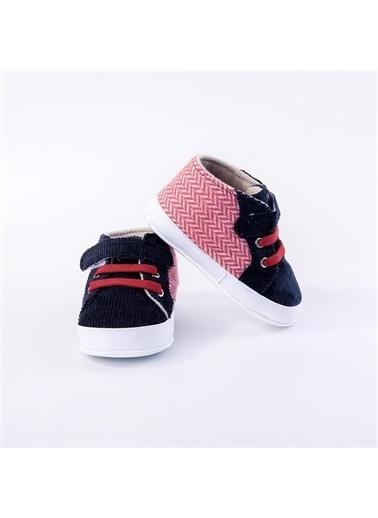 First Step Lastik Bağlı Ayakkabı Lacivert Lacivert